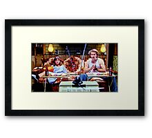 raising arizona  Framed Print