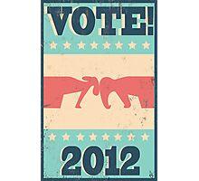 Vote 2012 Photographic Print