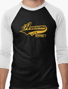 AWESOME BARNEY (yellow type) big version T-Shirt