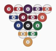 Billiards / Pool Balls by bradyarnold
