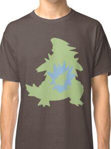 PKMN Silhouette - Larvitar Family Classic T-Shirt