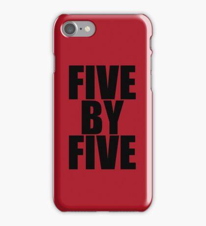 Five by five (Case) iPhone Case/Skin
