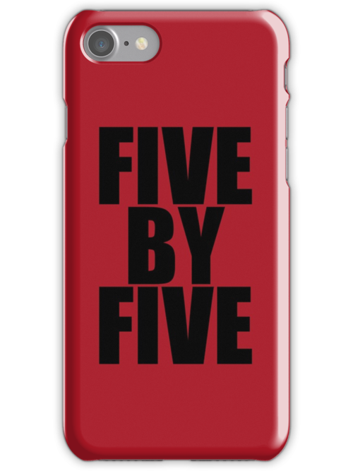 Five by five (Case) by shoffman12