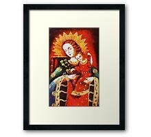 Queen of Heaven Framed Print