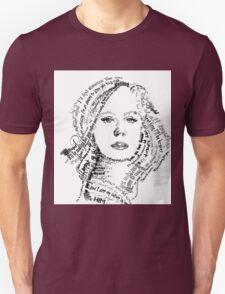 Adele typography T-Shirt