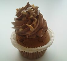 Nutella and praline cupcake by Caroline Clarkson