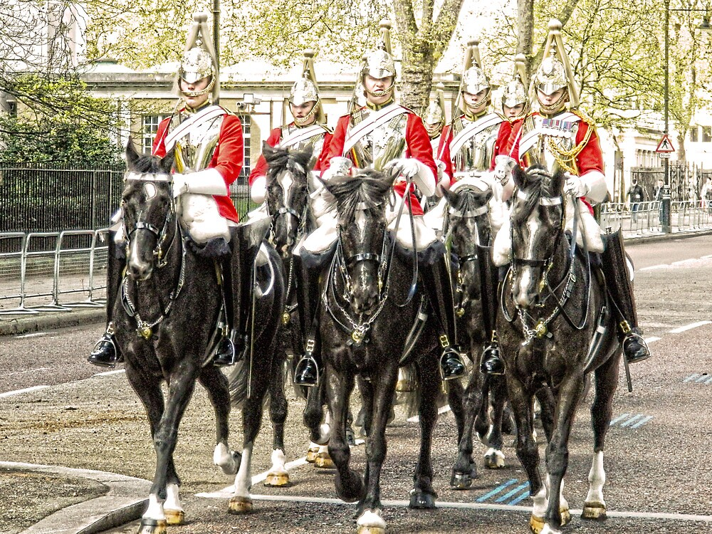 All the Queens Horses by DavidWHughes