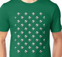 Soccer Ball Pattern Unisex T-Shirt