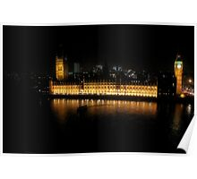 House of Parliment-London UK Poster