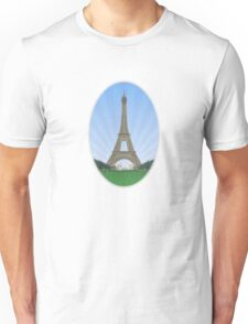 Eiffel Tower in Paris Unisex T-Shirt