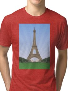 Eiffel Tower in Paris Tri-blend T-Shirt