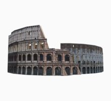 Colosseum in Rome by bradyarnold