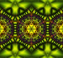 Green Lotus by Susan Sowers