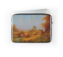 A View To The Hill. Laptop Sleeve