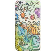 Ocean watercolors iPhone Case/Skin
