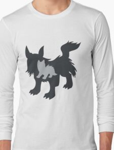 PKMN Silhouette - Poochyena Family Long Sleeve T-Shirt