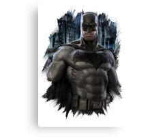 Batman - Ben Afflek  Canvas Print