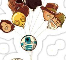 George lucas balloons Sticker