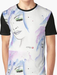 Woman Face Graphic T-Shirt