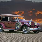 1929 Packard Touring Car by DaveKoontz