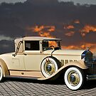 1929 Pierce-Arrow Convertible Coupe by DaveKoontz