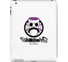 Sad Boys Logo Design With Lean Cups iPad Case/Skin