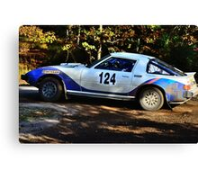 Mazda RX7 No 124 Canvas Print