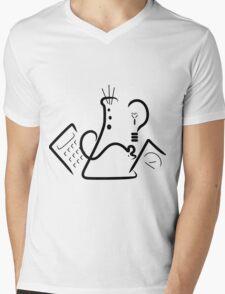 Science Fair Logo Mens V-Neck T-Shirt