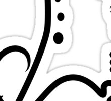 Science Fair Logo Sticker