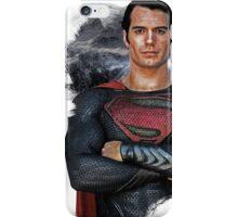 Superman - Digital Painting iPhone Case/Skin