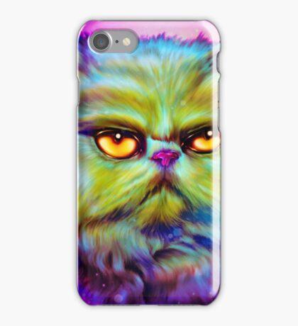 LouLou, persian cat iPhone Case/Skin