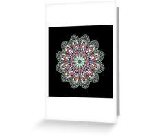 Kaleidoscope Mandala Chakra Greeting Card