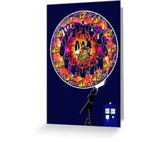 Timelord Timepiece Greeting Card