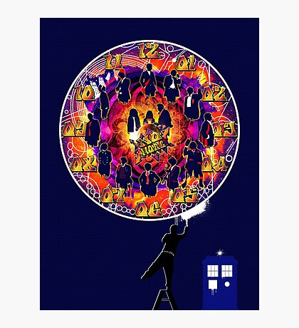 Timelord Timepiece Photographic Print
