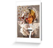 Icons: Lady Crash Greeting Card