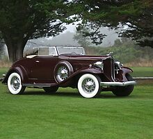 1932 Packard 900 Convertible 3 by DaveKoontz