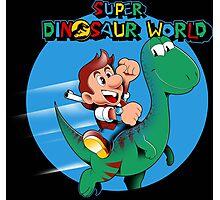 Super Dinosaur World Photographic Print