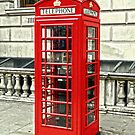 Whitehall Phone Box by DavidWHughes