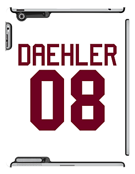 Matt Daehler Jersey - maroon/red text by sstilinski