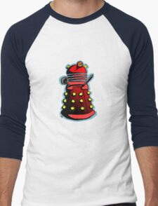 Dalek Drone Men's Baseball ¾ T-Shirt