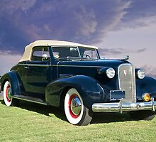 1937 Cadillac 70 Convertible Coupe by DaveKoontz