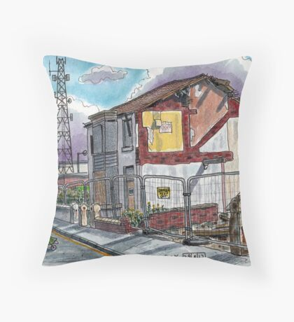 demolition Throw Pillow