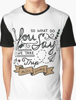 Miles Away Graphic T-Shirt