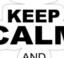 KEEP CALM AND WATCH PORN Sticker