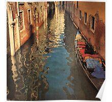 Venetian Evening Shimmer-Venice, Italy Poster