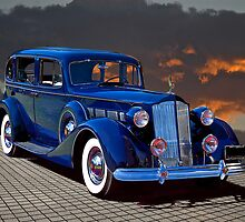 1937 Packard Luxury Sedan by DaveKoontz