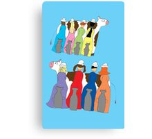Eight Maids A-Milking Canvas Print