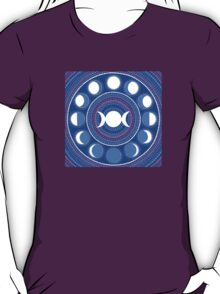 Moon Cycle Mandala T-Shirt