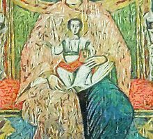 Madonna and Child by leapdaybride