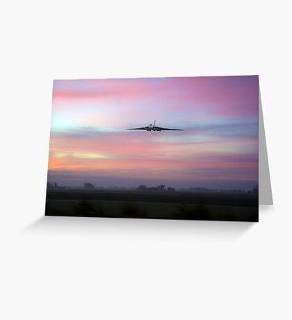 Vulcan Dawn Greeting Card